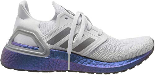 adidas Damen Ultraboost 20 W Laufschuh, Dash Grey Grey Three F17 Boost Blue Violet Met, 41 1/3 EU