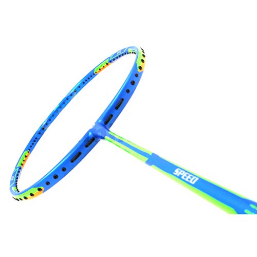 APACS Dual Power Speed Version Blue Badminton Racket-UNSTRUNG Badminton Racket