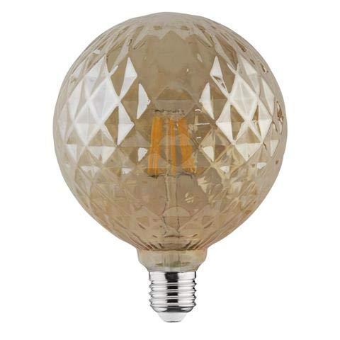 HOROZ ELECTRIC RUSTIC TWIST-6. Vintage Led Lampe 220-240v 6w 2200k e27. 540 Lumen. 20.000 Stunden. 160 X 125mm.