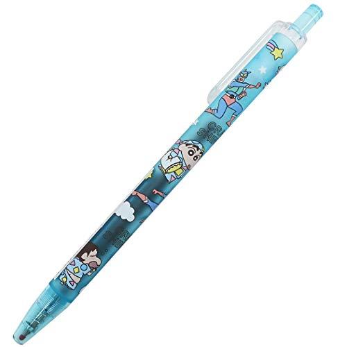 クレヨンしんちゃん[カラーペン]ノック式 カラーゲルペン/パジャマ ライトブルー