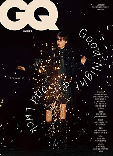 [Magazine] GQ Korean Magazine FEB 2021 Lee Min Ho 16P Shinee Minho 10P [Type A]