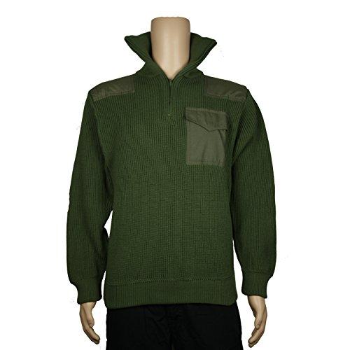 Elbe Team - Troyer Pullover Oliv 3766 marine Seemannspullover Arbeitspullover Sweater