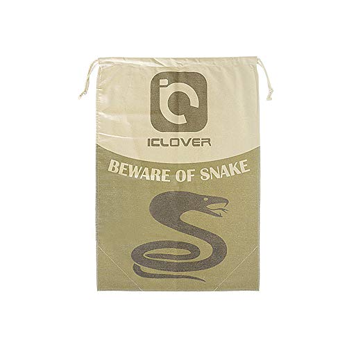 IC ICLOVER Snake Reptile Bag wit...