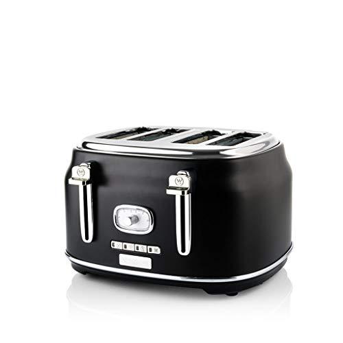 Westinghouse Retro 4 Slice Toaster (Black)