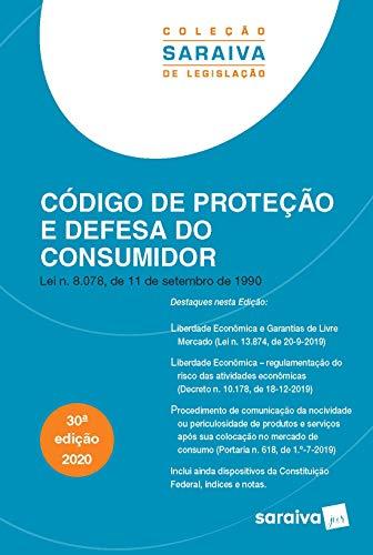 Código de Proteção e Defesa do Consumidor - Coleção Saraiva de Legislação