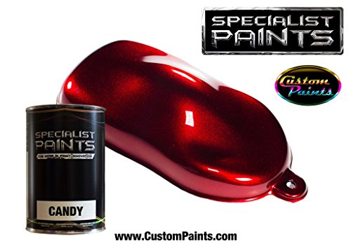 Specialist Paints Candy Paint Ruby Red - Quart