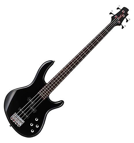 Cort Action Plus - Guitarra baja, color negro