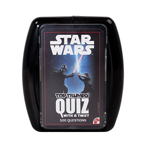 Winning Moves Top Trumps Quiz Edition Kartenspiel - Star Wars (Englische Sprache)