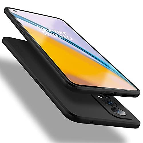X-level Funda para OnePlus Nord 2 5G, [Serie Guardian] Soft Flex silicona TPU de alta calidad, sensación de teléfono real, funda para OnePlus Nord 2 5G, color negro