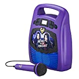 Descendants Bluetooth Portable MP3 Karaoke Machine Player with Light Show Store Hours of
