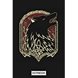 Fenrir Notebook: 6x9 120 Pages, Diary, Journal, Matte Finish Cover, Lined College Ruled Paper, Planner
