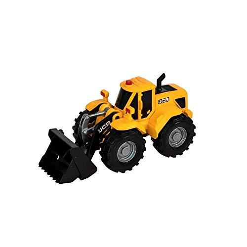 JCB MIGHTY MOVERZ - Kinder Spielzeug - JCB Bau Radlader Truck Spielzeug - Kinder Spielfiguren & Fahrzeuge - Baufahrzeuge und LKWs - 2 Jahre alt Junge und Mädchen Plus