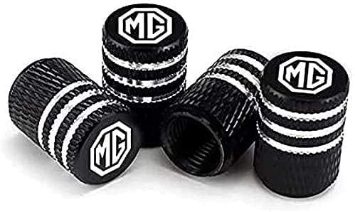 Coche Neumático Tapas Válvulas para MG ZS EV HS GS GT TF ZR 3 5 6 7 EZS EHS MG3 MG6, Antirrobo Antipolvo Resistente Agua Decoración Accesorio