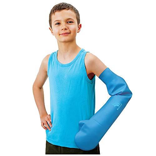 Bloccs Protector de Escayola Impermeable Brazo Completo para Niño, (M)