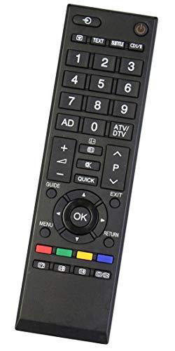 ALLIMITY CT-90326 Fernbedienung Ersatz für Toshiba REGZA LCD TV 32AV703 32AV703G1 32AV733G1 32AV833 32AV833G 32DB833G 32EL833 32EL833F 32EL834G 32EL934G 32HL833B 32HL833G 32HL933G