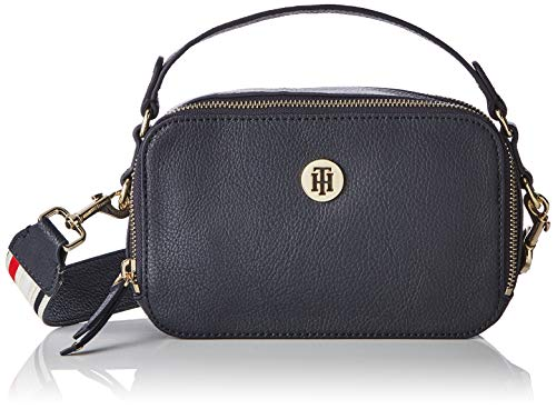 Tommy Hilfiger dames Cool Mini Trunk schoudertas, blauw (tommy navy), 8x13x21 cm