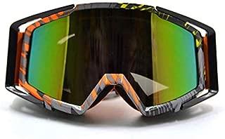 YSYYSH Gafas Gafas Protectoras Gafas Retro Moto Motocicleta Correas Ajustables, la visión de Alta definición
