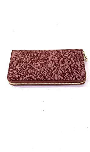 Borbonese Women's wallet in nylon pink