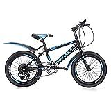 FUFU Bicicleta For Niños De 18 A 20 Pulgadas, Adecuada For Niños De 7 A 14 Años, Asiento Ajustable Y Manillar, Absorción Antideslizante Y De Impacto, Fácil De Montar (Size : 18in)