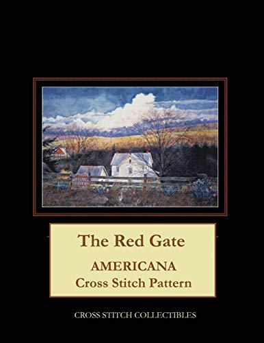 The Red Gate: Americana Cross Stitch Pattern