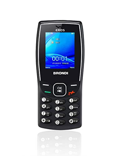 Brondi Eros Telefono cellulare Nero
