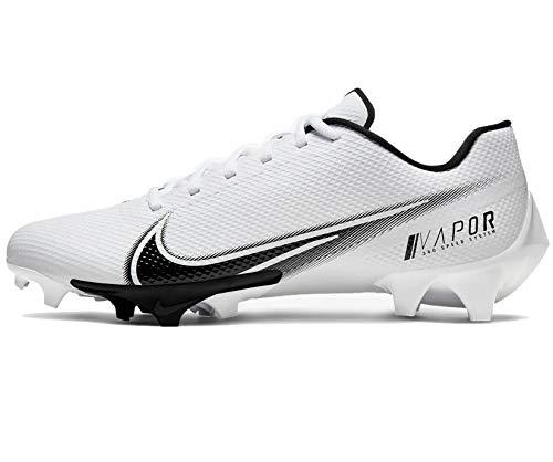 Nike Vapor Edge Speed 360 Mens Football Cleat Cd0082-100 Size 8 White/Black
