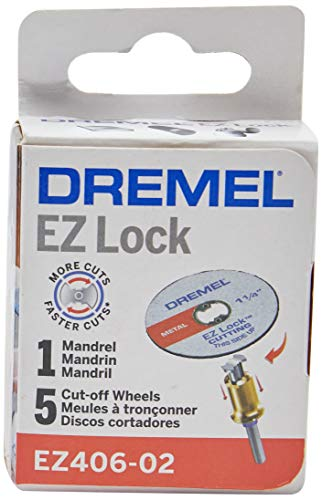 Dremel Kit Discos Ez-406 Mandril