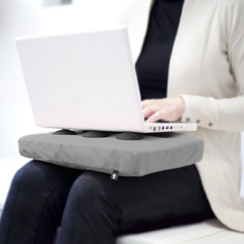 Bosign SURFPILLOW Hitech Laptop-Kissen Notebook silver / black