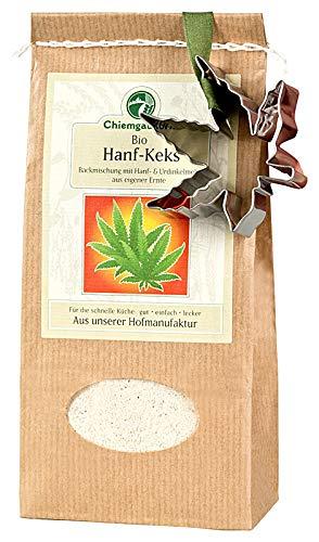 Chiemgaukorn Bio Chiemgauer Hanf-Keks, Backmischung mit Keks-Ausstecher 270 g