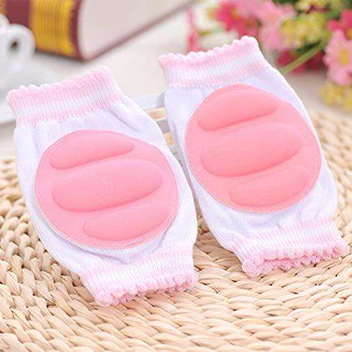 DFGER 1 par del bebé Almohadillas de Rodilla Protector Niños Niños Seguridad Crawling Codo Cojín Cojín Infantos Rodilleras Protector Calentadores de piernas bebé recién Nacido (Color : 5)