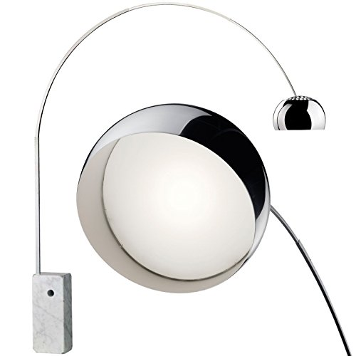 Lampada ARCO Flos base marmo bianco - LED