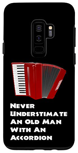 Galaxy S9+ Accordion Musical Instrument Music Lovers Funny Quote Gift Case