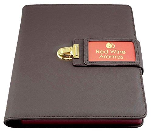 Red Wine Aroma Kit - 24 Aromas (incl. Wine Aroma Wheel)