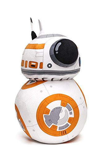 Star Wars Plüschfigur XL BB-8 Episode 7 orange-weiß, 100% Polyester, Velboa-Samtplüsch.