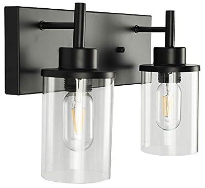 LMSOD Bathroom Vanity Light Fixtures. Modern Farmhouse Industrial Indoor Wall Mounted Lamp for Kitchen Living Room Dining Room