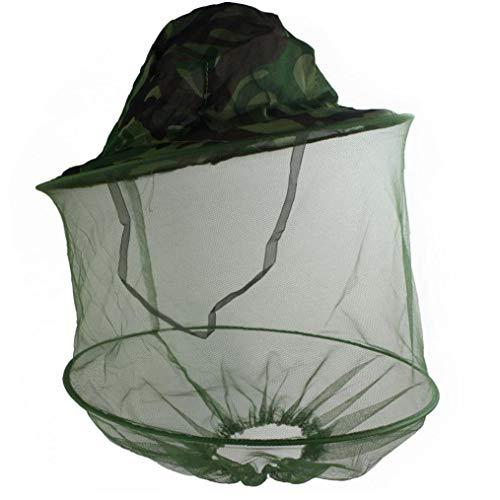 ZYCX123 Moskito-Fliegen-Insekt Biene Fischen Schild Haut schützen Hut-Netz für Profis Beekeeper Camouflage Haushaltsgegenstände