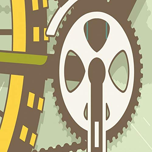 Apoart 3D Wallpaper Aangepaste Mural Woonkamer Aangepaste Wallpaper Retro Bike Mountainbike Onderdelen Gereedschap Achtergrond Muur Slaapkamer Mural 400cmx280cm