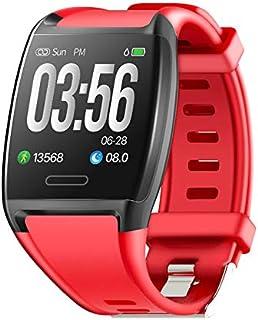 LVYE1 MRMF Pulsera Actividad,Reloj Fitness Tracker para Hombre y Mujer, Smartwatch Smartband, pulsómetro, podómetro, Impermeable IP67, Contador de Pasos, Seguimiento de Actividad – para Android e iOS
