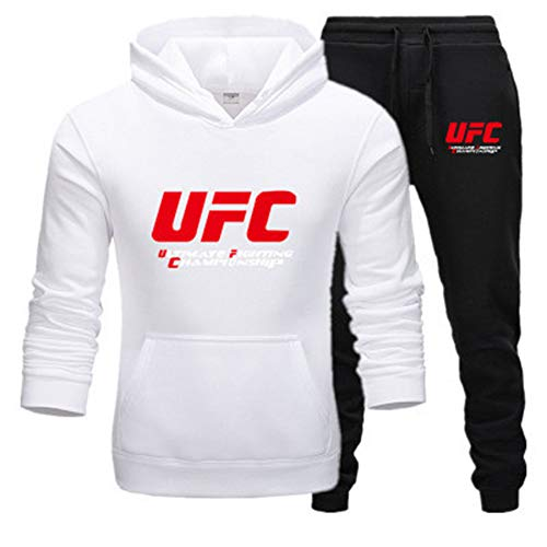 Tweedelig sportpak met capuchon joggingpak heren joggingpak met capuchon herfst merk hoodies + broek vrij voor mannen van C, M