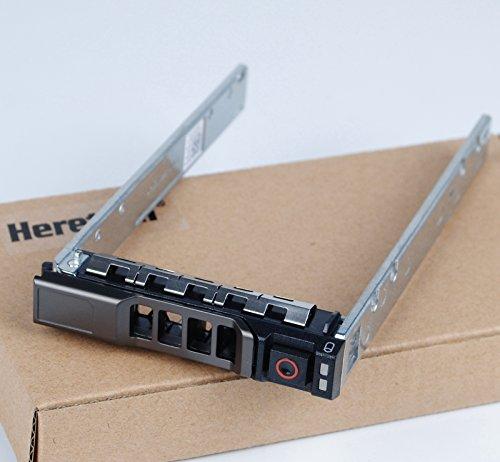 Heretom G176J KG7NR Soporte 2,5 Pulgada SAS/SATA Bandeja de Disco Duro Tray Caddy Caddie para DELL R310 R320 R410 R420 R430 R510 R520 R610 R620 R630 R710 R720 R730 T420 T430 T630 T710 MD1220