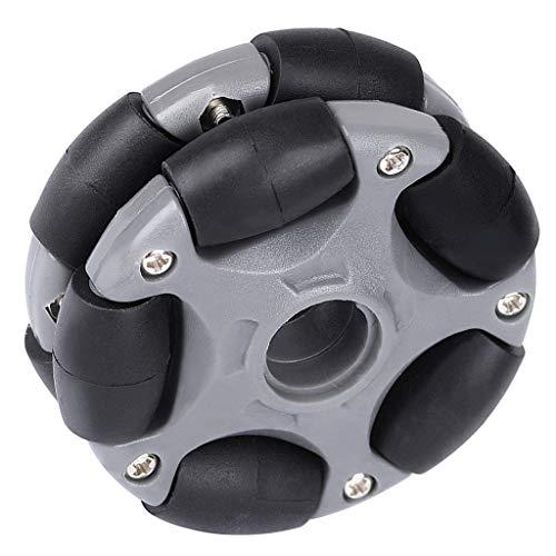 SM SunniMix 360° Drehbare Omni Wheel Antriebsrad Omnidirektional Rad Ersetzrad für Küchenmaschine Roboter