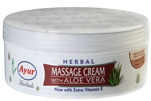 Ayur Herbals Massage Cream with Aloe Vera 200ml