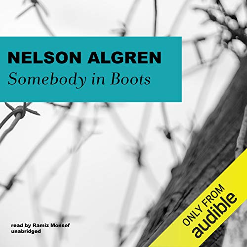 Somebody in Boots audiobook cover art