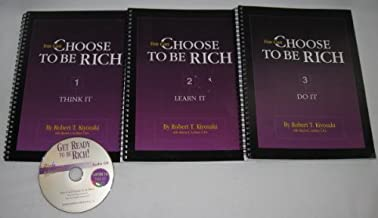 Set of 3 You Can Choose to be Rich Spiral Workbooks & CD