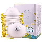 20 x Atemschutzmaske mit Ventil FFP2 CE-Zertifizierung Geruchlos Staubschutzmaske geeignet