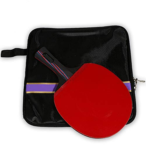 Best Deals! Cigkany Ping Pong Paddle Carbon Table Tennis Racket Training Racket Single Pack Game Rac...