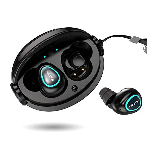 Kalinco Wireless Headphones,Wireless Earbuds,Sport HD Stereo in Ear IPX7 Superior Waterproof, Richer Bass HiFi Stereo,7-9 Hrs Playback Noise Canceling Headsets for Workout,Gym Running.