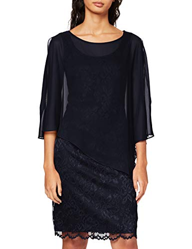 Vera Mont Damen 0095/4805 Kleid, Blau (Night Sky 8541), 44