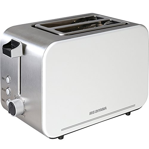 アイリスオーヤマポップアップトースター2枚シルバーIPT-850-W