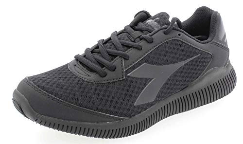 Diadora Eagle - Zapatillas de running para hombre, Hombre, Co2 Nero, 44.5 EU